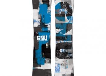 Новый сноуборд Gnu Carbon Credit BTX 159см Lib Tech Banana Technology