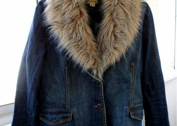 Джинсовый пиджак бренд Y. O. U
