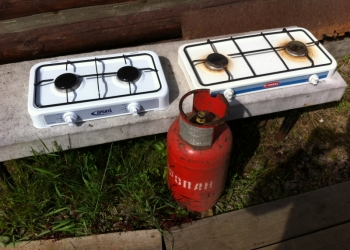 плита газовая 2-ух. комфорочная бытовая