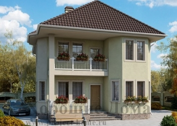 Строительство дома из газобетона 9.2x11.5 155.5 кв.м.