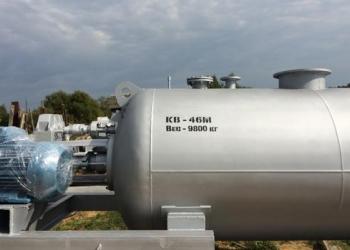 Котел вакуумный КВ-4. 6М для приготовления мясо-костных кормов и топки жира