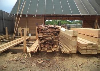 Продам горбыль и обрезь на дрова