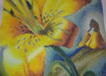Картины, иконы бисером и мулине