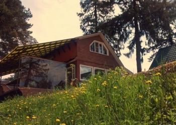 Клифф-хаус 300м с террасой над рекой+2гост. дома и баня Юго-Запад МО
