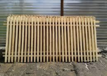Забор (пролет) из штакетника
