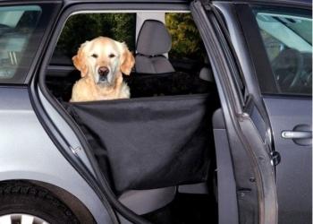 Гамак для перевозки  собак черный