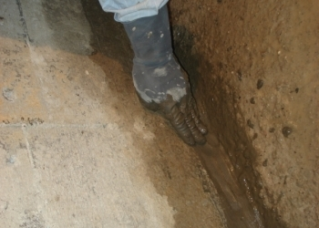 Гидроизоляция полимерная PROGIDRON шовный 15кг. по бетону для швов,стыков,трещин
