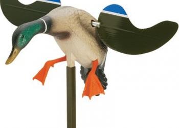 Механическое чучело утки машущей крыльями с ДУ