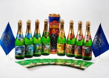 Квас Кубанский, Сказочное Шампанетто-детское шампанское,напитки