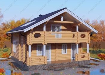 Срубы домов, бань, изготовление, досавка, установка