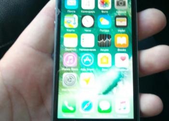 Продам смартфон apple iPhone 5S 16 Gb Neverlock полностью рабочий