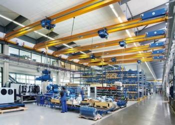 Краны мостовые однобалочные опорные из комплектующих ABUS