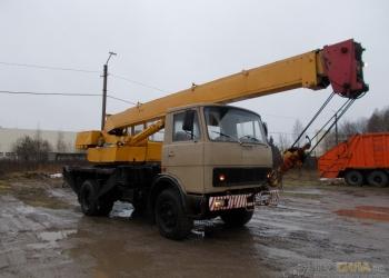 Продаю автокран Ивановец КС-3577 1990г 14т На шасси Маз