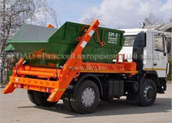 Мусоровоз контейнерный МК-3412-01 на шасси МАЗ-5337Х2-441-000