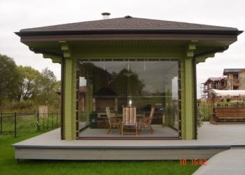Мягкие окна, промышленные шторы, пленка ПВХ,  тенты для беседок, шатров, навесов