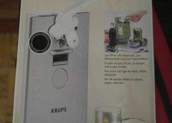 Продам новую электроткрывалку Krups GVE1C1