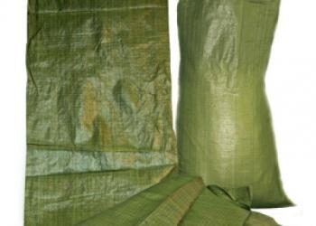 Мешок строительный зеленый