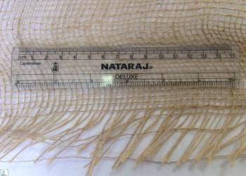 Мешковина джутовая плотность 200г/кв.м ширина 110см