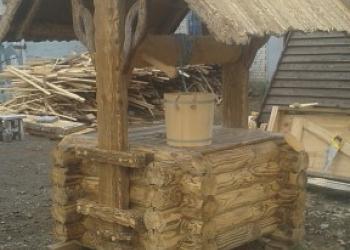 Колодцы Можайск-копка колодцев в Можайске, домики для колодцев.