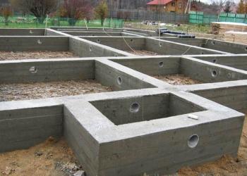 Фундаменты,отмостка,бетонные работы