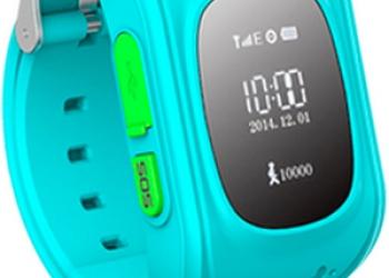Детские смарт часы с gps трекером KidTracker Q50