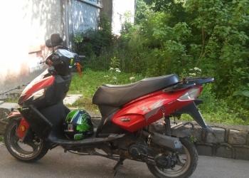 Продам или обменяю скутер 50куб двухместный