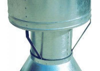 Дефлектор ДФ с фартуком  D315мм,400мм.