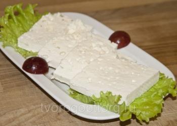 Армянский сыр (Чанах)