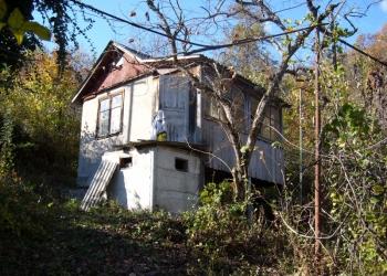 продам земельный участок с домиком  и плодоносящим садом в Адлерском районе Сочи