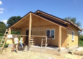 Модель домика размером 7,5 х 7,5 метров.