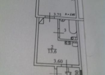 1-к квартира, 34 м2, 1/1 эт.