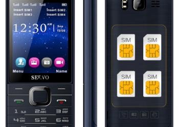 Телефон SERVO 9500 4 sim