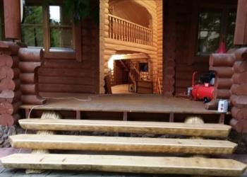 Лестницы по индивидуальным проектам из дуба, лиственницы, сосны