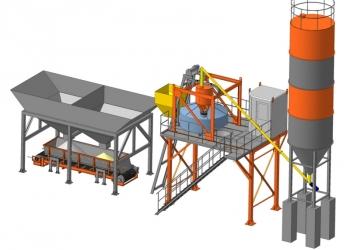 Производим мини-завод бетона