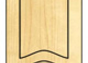 Декоративные фанерные накладки на ж. двери