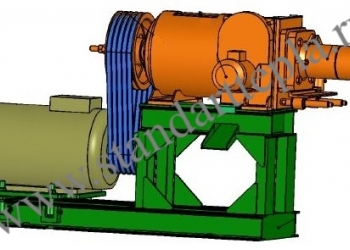 Пресс-брикетировщик экструдерный ПБЭ-300 до 300 кг/час для производства брикетов