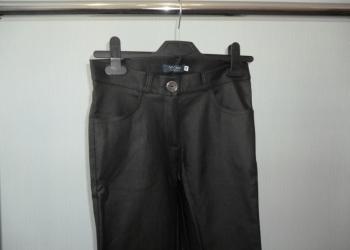 Продам женские брюки с покрытием под кожу