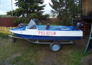 Лодка моторная Обь М