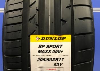 Летние шины Dunlop Maxx 050+ 205/50R17