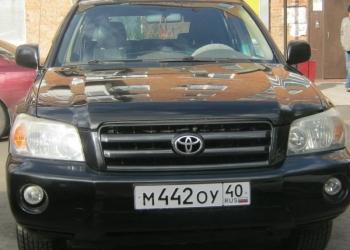 Toyota Highlander, 2003. ОТС. Продам или обменяю на Рено Сандеро