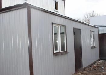 Модульное здание МК-3. 2.4х8.0х2.5м. окна пвх
