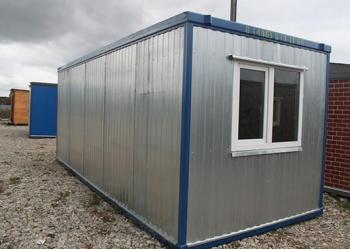 Блок контейнер (Бытовка) новая,теплая/126 окно пвх