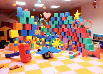 Поролоновые кубики