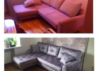 Профессиональная перетяжка мебели.