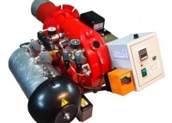 Горелка на отработке, нефти AL-35T (120-440 кВт) для теплогенератора