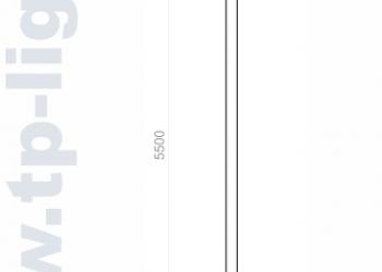 Опора освещения декоративная ОД 114/300/5500-А001
