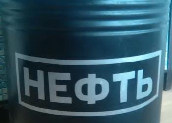 """Бочка 100 л железная """" Нефть"""""""
