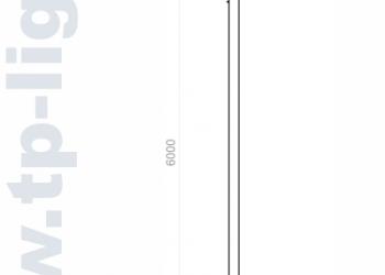 Опора освещения декоративная ОД 114/300/6000-А008