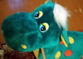 Динозавр качалка