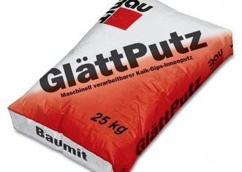 Baumit GlättPutz: Гладкая гипсовая штукатурка